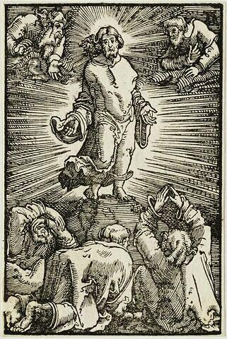 La Transfiguration  : Chute et Rédemption de l'Humanité, suite de quarante bois gravés