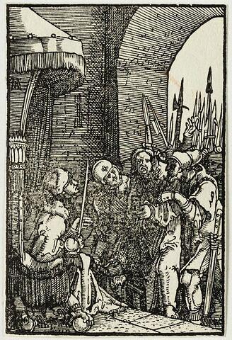 Le Christ devant Pilate  : Chute et Rédemption de l'Humanité, suite de quarante bois gravés