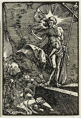 La Résurrection  : Chute et Rédemption de l'Humanité, suite de quarante bois gravés