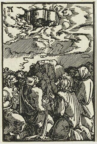 L'Ascension  : Chute et Rédemption de l'Humanité, suite de quarante bois gravés