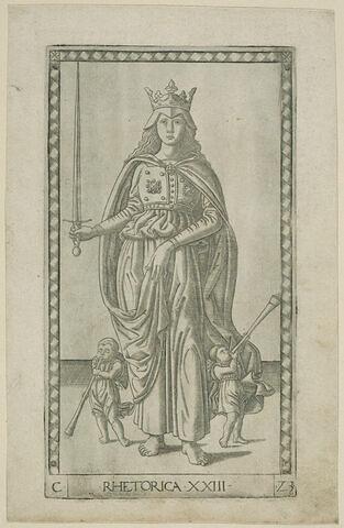 Carte 'La Réthorique'