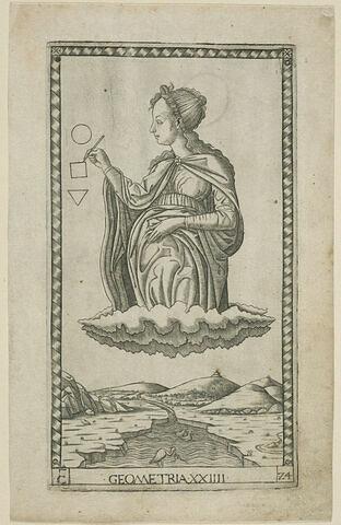Carte 'La Géométrie'