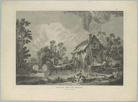 Moulin près de Chatou