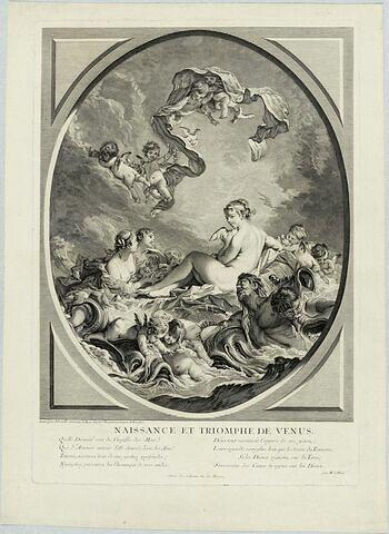 Naissance et triomphe de Vénus