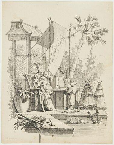Scènes de la vie chinoise : Le Carillon
