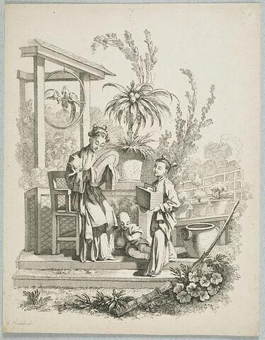Scènes de la vie chinoise : La Toilette