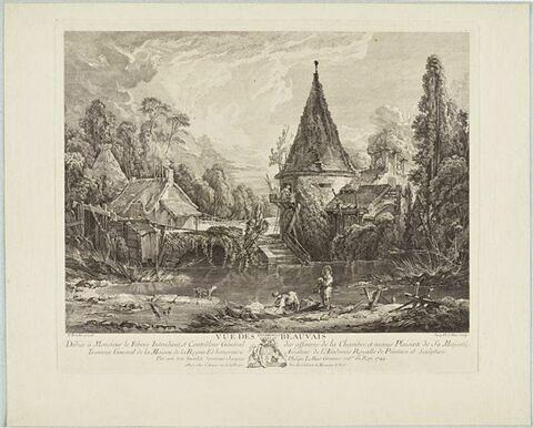 Vue des environs de Beauvais