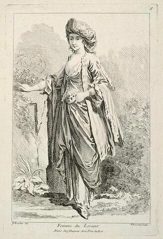 Recueil de diverses figures étrangères: Femme du Levant