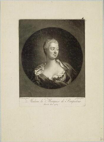 Buste de Mme de Pompadour