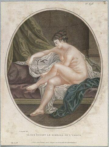 Vénus tenant le symbole de l'Amour
