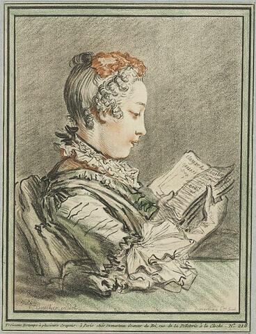 "Femme lisant ""Eloyse et Abailar"""