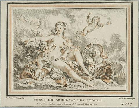 Vénus désarmée par les Amours