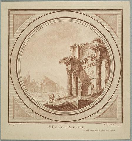 Première ruine d'Athènes