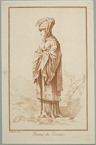 Recueil de diverses figures étrangères : Femme du Levant