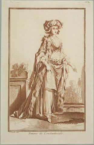 Recueil de diverses figures étrangères : Femme de Constantinople