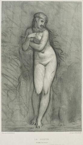 La Pudeur (Vénus au bain) d'après Pierre-Paul Prud'hon
