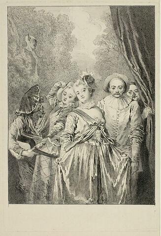 La troupe italienne