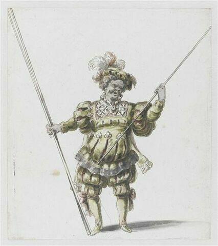 Habit de nain pour l'opéra Amadis
