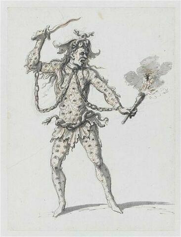 Costume d'allégorie infernale