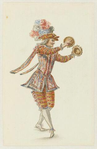 Costume de musicien pour 'La Pastorale comique'