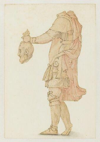 Costume d'Holopherne ou de Goliath