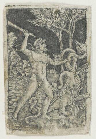 Hercule vainqueur de l' Hydre de Lerne