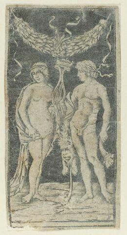 Hercule et une muse