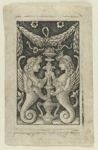 Ornements aux deux sphinx