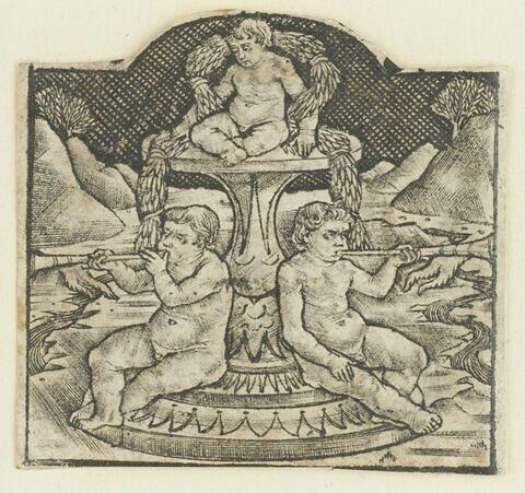 Fontaine avec enfants