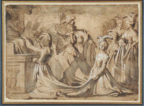 Salomon adorant les idoles
