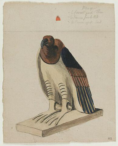Oiseau égyptien, sur socle