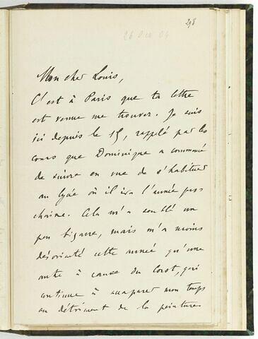 26 octobre 1904, sans lieu, à Louis de Launay