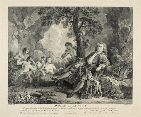 Antoine de la Roque, écuyer