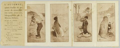 Prospectus pour l'Automne, lithographie d'Etienne Moreau-Nélaton