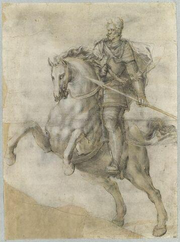 L'Empereur Rodolphe II à cheval