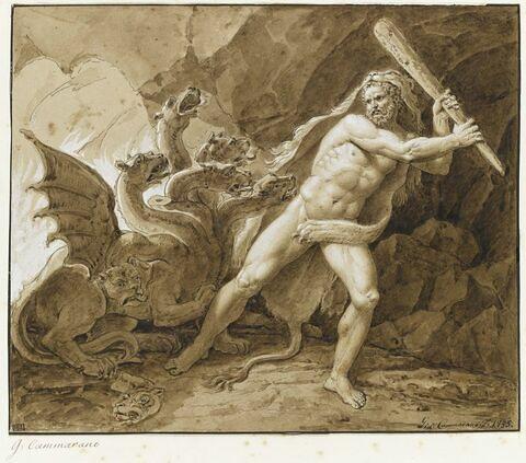 Hercule terrassant l'Hydre de Lerne
