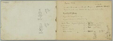 Nombreuses annotations manuscrites et additions diverses