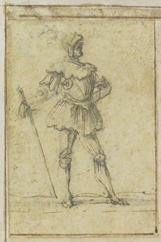 Projet de cartes à jouer : Homme en armure