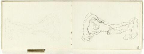 Dépose du folio 7 recto