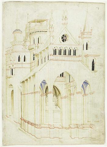 Vue d'une église gothique