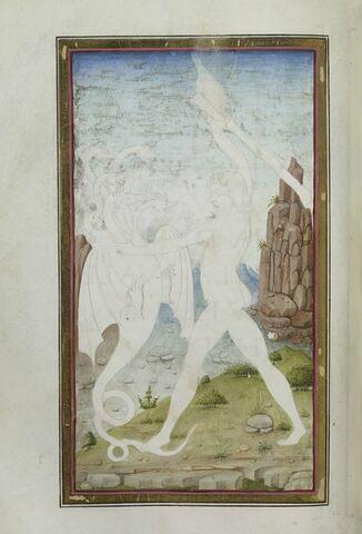 Hercule abat l'hydre de Lerne