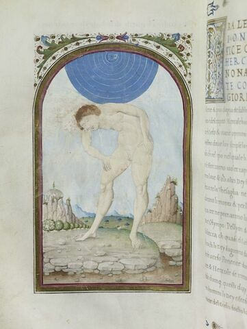 Hercule soutient le ciel