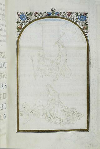 Mort de Lychas, de sa femme et de ses enfants