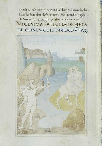 Hercule et le centaure Nessus