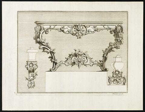 Projet pour pieds de table et vases