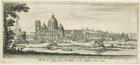 Vue de la basilique Saint Pierre