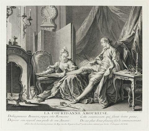 Contes de La Fontaine : La courtisane amoureuse