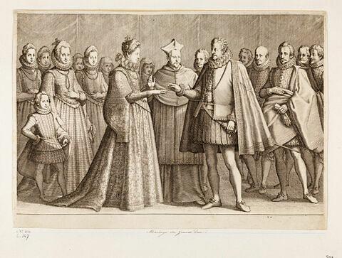 Principaux faits du règne de Ferdinand Ier, Grand Duc de Toscane : Mariage du Grand Duc