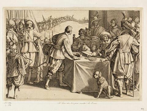 Principaux faits du règne de Ferdinand Ier, Grand Duc de Toscane : Il lève des troupes contre les Turcs