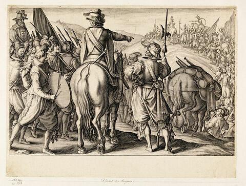 Principaux faits du règne de Ferdinand Ier, Grand Duc de Toscane : Départ des troupes